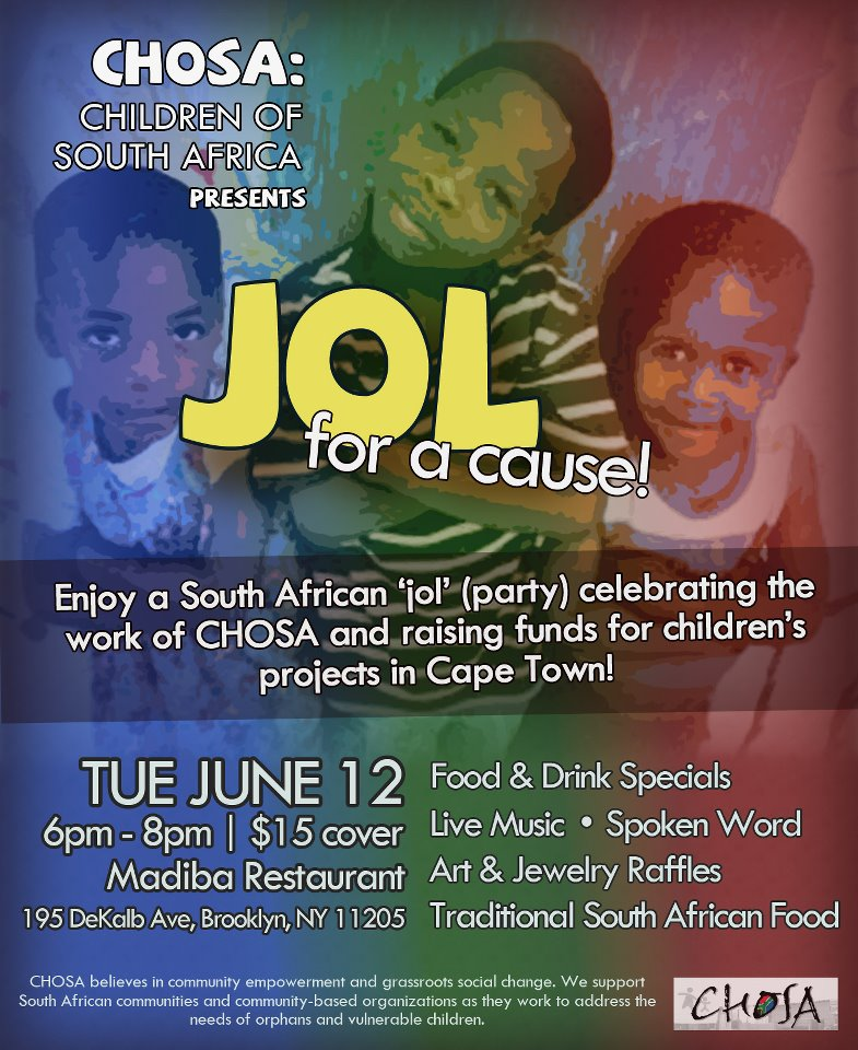 'Jol' for a cause: CHOSA in NYC!