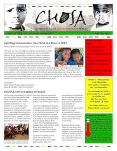 2013 CHOSA WinterNewsletter_Thumbnail